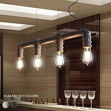 industrial loft lighting. 4 Head Water Pipe Industrial Pendant Light Loft Lighting R