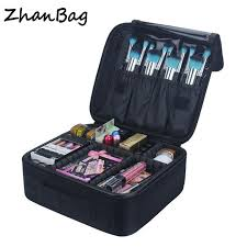2019 big capacity makeup box for women travel waterproof professional toiletry bags female necessaire make up bag cosmetic cases 318 from mingshoe001