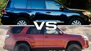 Toyota 4Runner vs Toyota Land Cruiser - YouTube