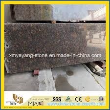 prefabricated tan brown granite countertop slab yqw gs22201