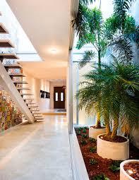 Indoor Garden Indoor Garden And Innovative Use Of Tiles Vibrant Home In Macrida