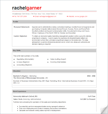 Professional Resumes Templates Free Resume Sample Gallery One
