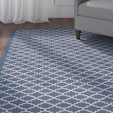 extremely creative navy diamond rug impressive design alcott hill louisville navybeige indooroutdoor area rug