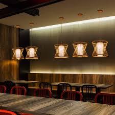 Vintage Rustikal Holz Stil Pendelleuchte Kreativ Loft Bar