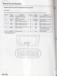 d i y retain your navi prompts w aftermarket headunit 2000 Acura Tl Radio Wiring Diagram disconnect your radio wire harness and carefully place it and your radio to the side we will be dealing with pins 13 and 14 see below 2000 acura tl stereo wiring diagram