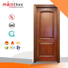 Latest Veneer Door Designs Hot Item Exterior Interior Door Wooden Sashed Door Designs With Nature Veneer