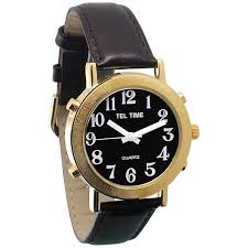 talking watches for men wrist watch pocket watch talking mens gold talking watch black dial