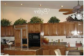 What To Decorate The Top Of Kitchen Cabinets With Home Diy Cabinet