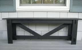 diy rustic furniture plans. Rustic Furniture Plans Large X Bench Diy Wood Patio