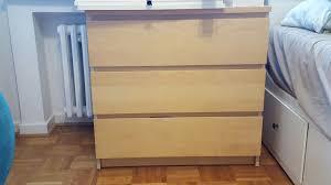 Gebraucht Ikea Malm Kommode Mit 3 Schubladen In 40667 Meerbusch