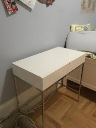 furniture like west elm. West Elm Lacquer Storage Mini Desk/Vanity White, LIKE NEW Furniture Like