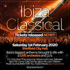 Classical Photo Ibiza Classical 2020 Sheffield City Hall