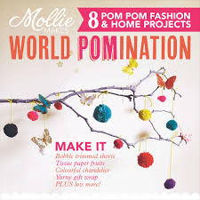 free pom pom maker with mollie makes 42