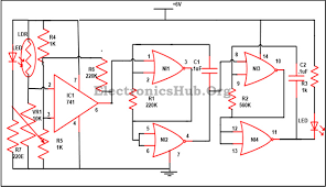 electronic letter box project circuit and its working circuit diagram of electronic letter box