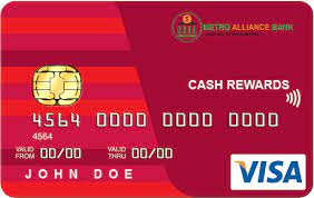 Reward points are redeemable for gifts, vouchers, and other benefits. Metro Alliance Bank Credit Cards Banking Loans Credit Cards Investments Insurance