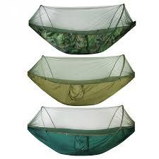 <b>Double</b> / <b>Single</b> Portable Camping Travel Hammock <b>Hanging Bed</b> ...