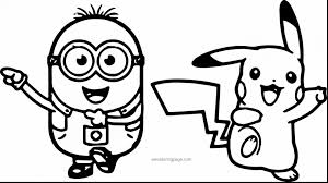 Minion Colouring Pages Printable Free Printable Coloring Page For Kids