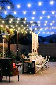clear outdoor string lights led globe garden bulbs patio round