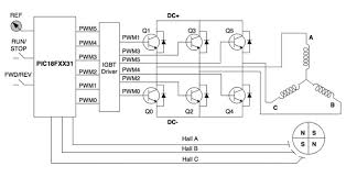 an introduction to brushless dc motor control digikey microchip bdlc power supply control system