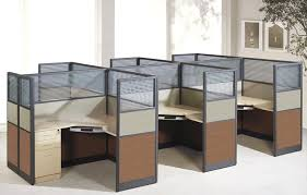 small office cubicle small. Smart And Exciting Office Cubicles Design Ideas : Solid Cubicle With Small L