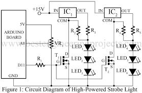 led strobe light circuit diagram the wiring diagram led strobe light circuit diagram vidim wiring diagram circuit diagram