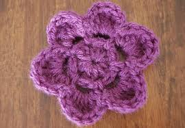 Free Crochet Flower Patterns Simple Crochet Flower Pattern