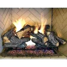 gas fireplace starter logs natural fireplaces the home depot inside pipe plastic lo installation depo awesome gas fireplace