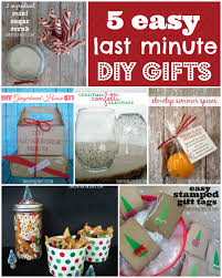 Five easy last minute gifts to DIY - just in the nick of time!
