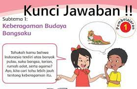 Pamit kepada kedua orang tua 5. Kunci Jawaban Tema 1 Kelas 4 Halaman 3 4 5 6 7 8 9 Pembelajaran 1