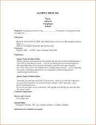 Gallery Of Sample Google Resume