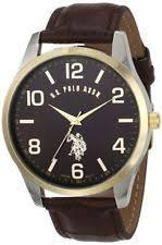 polo watch u s polo assn classic men s usc50225 watch brown strap