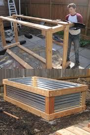 diy raised vegetable garden ideas