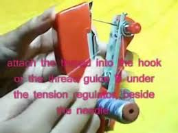 How To Use Mini Sewing Machine Stapler
