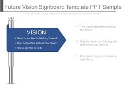 Signboard Template Future Vision Signboard Template Ppt Sample Powerpoint Templates