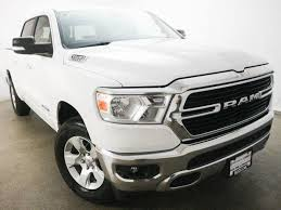 Used 2019 Bright White Clearcoat Ram 1500 Big Horn/Lone Star 4x4 ...