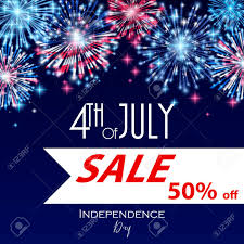 4th Of July American Independence Day Sale Celebration Flyer