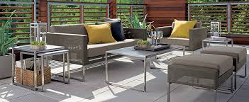 outdoor furniture crate and barrel. Wonderful Furniture U0027modern Intended Outdoor Furniture Crate And Barrel
