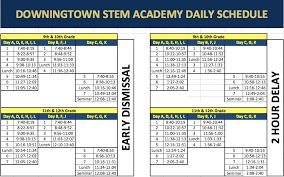 Block Scheduling Colleges Stem Academy Homepage