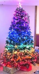 My mother's rainbow Christmas tree. rainbow, Christmas tree, color wheel,  gay pride
