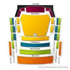Place Des Arts Maison Symphonique 2019 Seating Chart