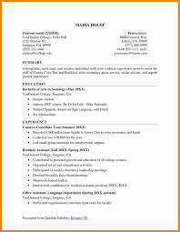 Resume For College Application 100 college application resume format graphicresume 40