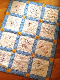 how to make a group baby quilt - Knitionary & how to make a group baby quilt Adamdwight.com