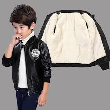 casual rong wai tao new style children jacket leather coat