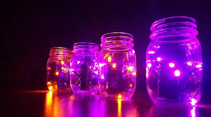 diy halloween lighting. Purple-and-orange-halloween-lights-decor Diy Halloween Lighting