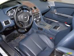 Baltic Blue Interior 2010 Aston Martin DB9 Volante Photo #46457292 ...
