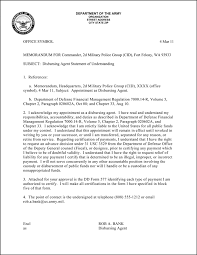 letter of recommendation army form commanding officer recommendation letter example under