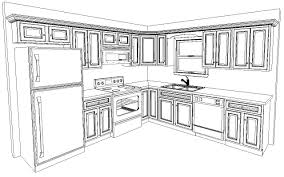 Kitchen Cabinet Design Template Extraordinary Blueprints For Kitchen Cabinets Template