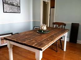 How To Build A Vintage Style Awesome Build Dining Room Table