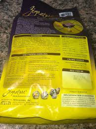Zignature Feeding Chart Zignature Grain Turkey Dry Dog Food 4lb