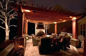 outdoor pergola lighting ideas outdoor outdoor pergola lighting lights ideas embellish with g throughout outdoor